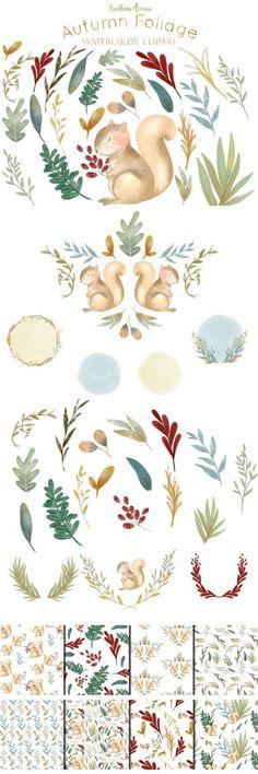 Watercolor And Ink, Watercolor Flowers, Watercolor Paintings, Flora Design, Doodle Designs, Plant Illustration, Doodle Art, Illustrators, Clip Art