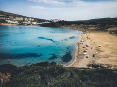 7 Beaches that will make you want to visit Menorca Stuff To Do, Things To Do, Best Beaches To Visit, Balearic Islands, Turquoise Water, Menorca, Seville, Spain Travel, Malaga