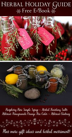 If the thought of herbal syrups, medicinal vinegars, and natural body care entices you, and you're looking for inspiration to make your own herbal gifts for your loved ones right in your own kitchen, then we have a special gift for you! Our brand new FREE Herbal Holiday Guide is here just in time for seasonal merriment!