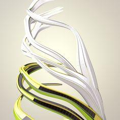 Програминг дизайн / програминг инфографика variable // Nike FuelBand Fibers // data driven art and generative design