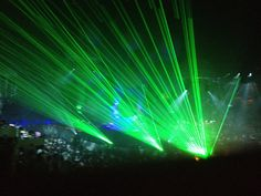 Lasers at Sensation White #edm #sensation