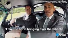 """HONOLULU — President Barack Obama and comedian Jerry Seinfeld compare cars and trade one-liners in a episode of """"Comedians In Cars Getting Coffee. Jerry Seinfeld, Black Presidents, Greatest Presidents, Barack Obama, Presidente Obama, Dry Sense Of Humor, Compare Cars, First Black President, Princess Charlene"""