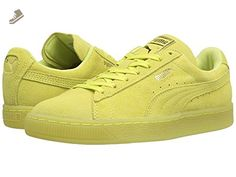 PUMA Women's Suede Classic Iced WN'S Fashion Sneaker, Soft Fluo Yellow-Gold, 9 M US - Puma sneakers for women (*Amazon Partner-Link)