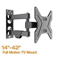 Fleximounts Full Motion Articulating TV Wall Mount Tilt Swivel Bracket For  17u0027u0027 42