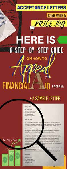 Financial Aid Appeal How to Make Your Case and Get More Money