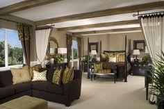 Tropical feel master bedroom