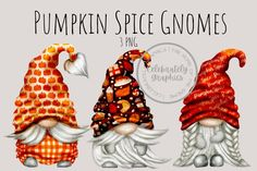 Gnome Paint, Cricut Tutorials, Christmas Gnome, Pumpkin Spice, Craft Projects, How To Draw Hands, Spices, Thanksgiving, Watercolor