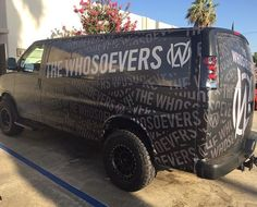 New van wrap we printed & installed for The Whosoevers @thewhosoevers #thewhosoevers #mintprintmedia #vanwrap #matteblack #printing #wraps #whosoevers #3m #w #worklife #riverside #orangecounty #hesperia #vans #blackvansmatter