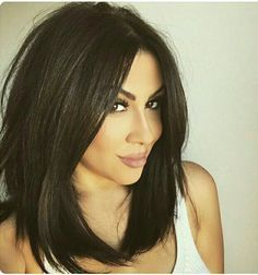 Hairstyles For Straight Thin Hair Unique Medium Bob Hairstyles For Fine Hair  New Haircut  Pinterest  Fine