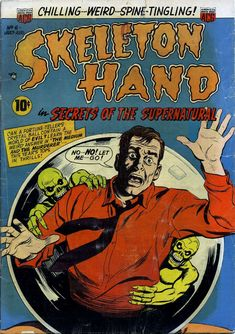 Comic Book Cover For Skeleton Hand in Secrets of the Supernatural #6