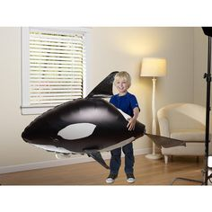 Radio-Control Giant Flying Killer Whale by Animal Planet