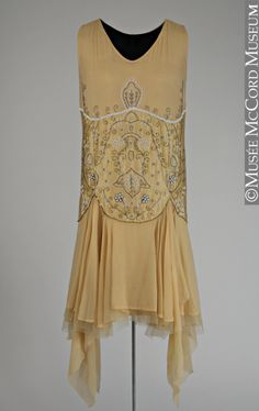 1920s dress via The McCord Museum