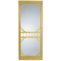 $72 Ashgrove screen door (would paint same navy as trim), maybe a better shape if I want more of the yellow front door to be visible.