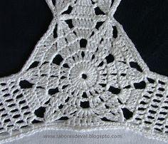 Crochet Bra, Crochet Bikini Pattern, Crochet Fabric, Crochet Diagram, Crochet Blouse, Crochet Shawl, Crochet Clothes, Crochet Stitches, Sewing Patterns