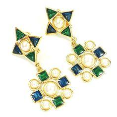 streitstones-Metall Ohrclips vergoldet, mit Emaill Lagerauflösung bis zu 50 % Rabatt streitstones http://www.amazon.de/dp/B00TTYHYS4/ref=cm_sw_r_pi_dp_sth6ub0G3DEMB, streitstones, Ohrring, Ohrringe, earring, earrings, Ohrclips, earclips, bling, silver, gold, silber, Schmuck, jewelry, swarovski