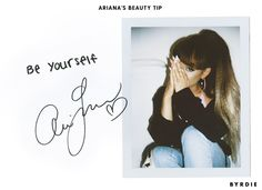 Ariana+Grande+Shares+Her+#1+Beauty+Tip+(and+It's+Not+What+You'd+Expect)+via+@ByrdieBeautyUK