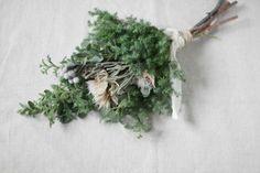 ヒムロスギのクリスマスリースとスワッグ dryflower ドライフラワー |FLEURI blog
