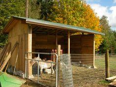 Pallet Goat Barn