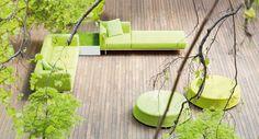 Ess-Tisch / quadratisch / rechteckig / Garten - SUNSET by Francesco Rota - PAOLA LENTI