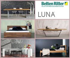 Luna - Holzbetten der Extraklasse Seit über 25 Jahren fertigt die Firma LUNA Bettgestelle aus massivem Holz. Die Firma zeichnet sich durch hochwertige Verarbeitung und durchdachtes Design aus. Deshalb wurde LUNA bereits mit dem Reddot Designpreis durch das Designzentrum in Essen ausgezeichnet. https://www.bettenritter.com/Luna