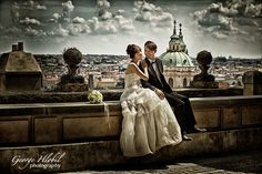 Prague wedding photography - Overseas wedding photo shoot - Prague wedding photos - Best wedding photography
