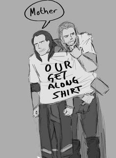 Get along shirt, Thor style