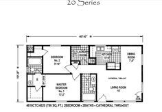 Small house floor plans 2 bedrooms google search my for Accessory dwelling unit floor plans