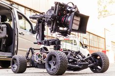 Freefly TERO Remote Camera Car - Advanced tracking system