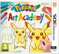 2227046 Pokemon Art Academy for Nintendo for sale online Pokemon 3ds, Pokemon Moon, Pokemon Sketch, Pokemon Games, Pikachu, Pokemon Art Academy, Donkey Kong Country Returns, Jurassic World, Picasso