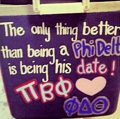 Pi Phi and Phi Delt cooler #piphi #pibetaphi