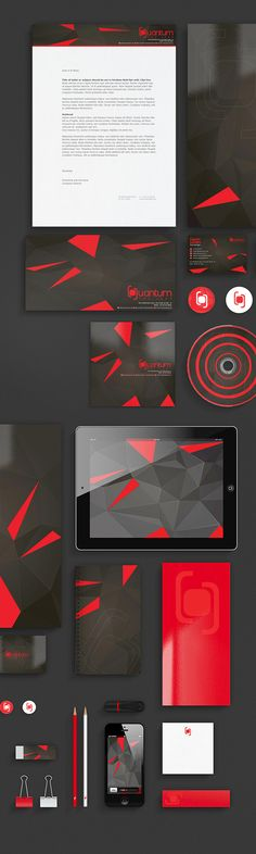 Quantum The Leap Superclub corporate branding by Rayz Ong , via Behance