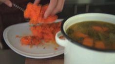 Sopa de calabaza asada y jengibre por Deborah De Corral - Licuadora Peabody