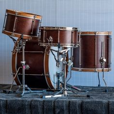 Levon Helm inspired kit. C&C Drums | Kansas City.  I've tried out C&C - Wonderful sounding instruments