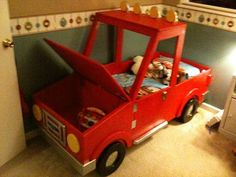 Boys Toddler Truck Bed by RockinRides on Etsy, $2000.00