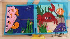 Quiet Book Templates, Quiet Book Patterns, Play School Activities, Book Activities, Magic For Kids, Baby Quiet Book, Sensory Book, Felt Quiet Books, Animal Books
