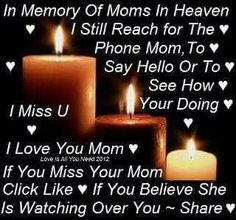 (This is for my mom about my grandma)