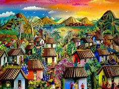 """""""Atarecer en mi pueblo"""" by Ileana Aleman Maltez"""