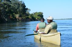 Lower Zambezi Canoeing Safari... yes please!