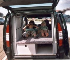 C-tech: Campingvan - Minicamper - Fiat Doblò - Camper, Camping