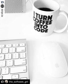 #Repost @the_software_gril with @repostapp  No coffee no code #Repost @dvlpr.io with @repostapp.  Introducing coffee mugs!  Link in bio  @dvlpr.io #macBook #software #programmer #programming #coding #computerscience #linux #unix #hack #mac #code #sublime #webdeveloper #webdevelopment #webdesign #webdesigner #java #C #javascript #programmerlife #developer #worldofprogrammers #worldofcode #apple #codinglife #coffee #frontend #hacking by codeismylife