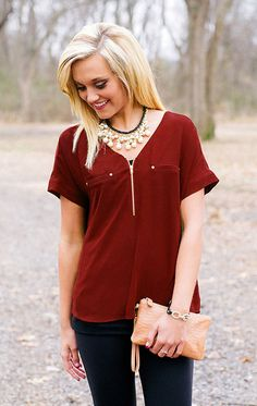 4413b788ee203 Dress up for game day with our Game Day Couture FSU Chiffon Zipper Top!  This flowy chiffon blouse features a flattering fit with gold hardware  details