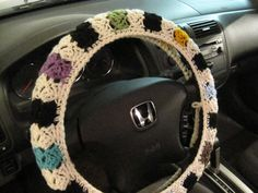 Hey, I found this really awesome Etsy listing at https://www.etsy.com/listing/223550724/crochet-steering-wheel-cover-wheel-cozy