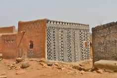 In the south of Burkina Faso, a landlocked country in west Africa, near the border with Ghana lies a small, circular village of about Vernacular Architecture, Gothic Architecture, Organic Architecture, Mud House, Clay Houses, Art Africain, Earth Homes, West Africa, 15th Century