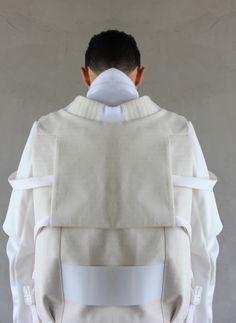 Fashion we like HARKAM/ White / Lines / Futuristic