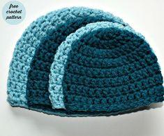 Ho imparato a realizzare dei semplici cappelli all'uncinetto in tutte le misure e voglio spiegare a voi lettrici come realizzarli!