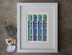 ORIGINAL illustration The Genetic Code DNA by sandraculliton, $34.00