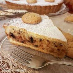 cake without frosting Tart Recipes, Sweet Recipes, Cooking Recipes, Sweet Corner, Sweet Cooking, Torte Cake, Savarin, Sicilian Recipes, Best Banana Bread