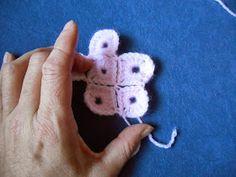 Tutorial Pixeldecke, häkeln, crochet, afghan