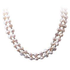 Collier de perles de culture d'eau douce ... Un bijou à la conception exceptionnelle !