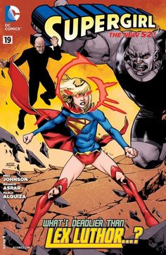 Supergirl (2011-) #19 Supergirl meets Power Girl for the first time! However, their first meeting quickly turns into their first team-up as the girls from two worlds must stop a threat to both their existences.